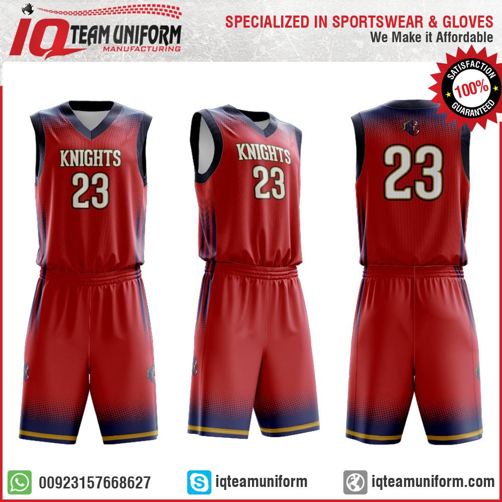 bce1c691b6f Mustang Custom Reversible Basketball Uniform by IQ TEAM UNIFORM ...