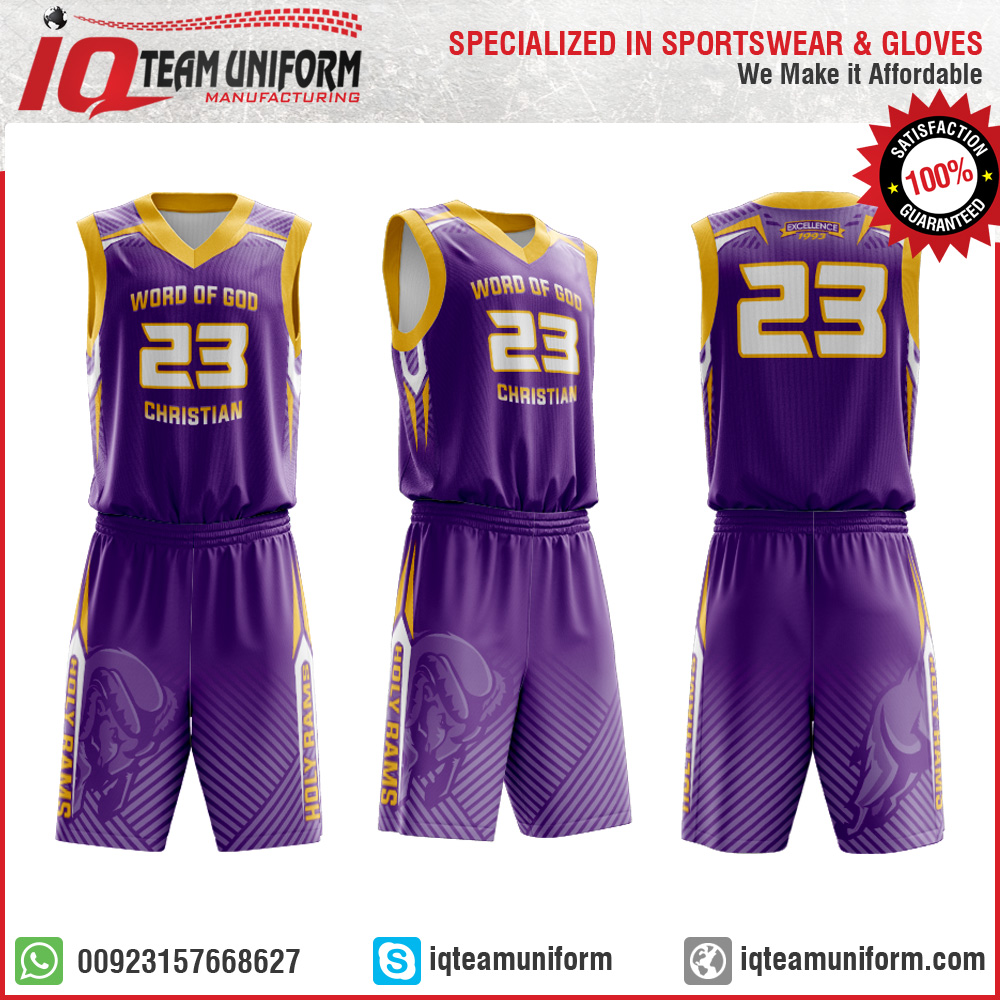 Team Basketball Uniform 89